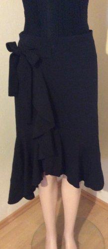 H&M Jupe asymétrique noir polyester