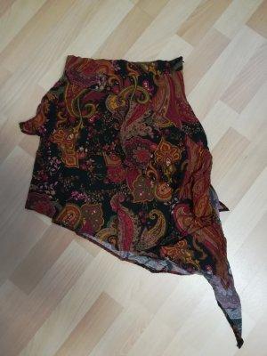 Stradivarius Asymmetry Skirt multicolored