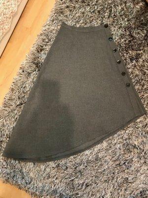 Zara Jupe asymétrique gris foncé