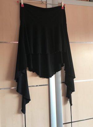 Asymmetry Skirt black