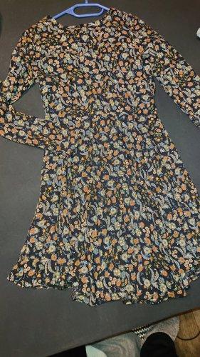 Brave Soul Sukienka z długim rękawem Wielokolorowy