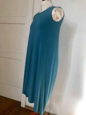 COS Sukienka z rękawem balonowym turkusowy
