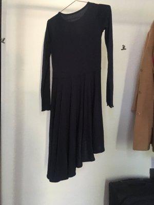 Asymmetrisches Kleid Dunkelblau