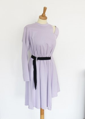 Asos Robe découpée violet-noir