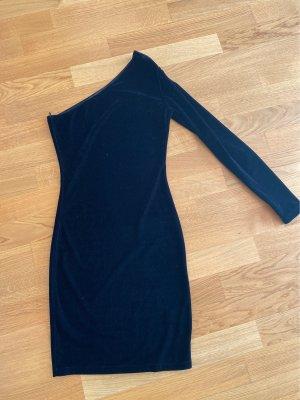 Asymmetrisches samt Kleid von bik bok