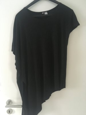 H&M Top extra-large gris anthracite polyester
