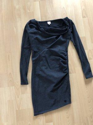 Bench Sukienka z dżerseju antracyt