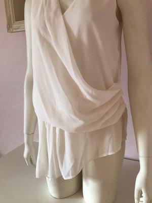H&M Hauts épaule nues beige clair polyester