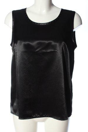 Atelier Creation Sleeveless Blouse black casual look