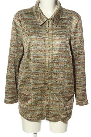 Atelier Creation Short Jacket khaki-brown flecked casual look