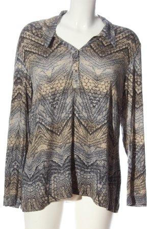Atelier Creation Long Sleeve Blouse primrose allover print casual look