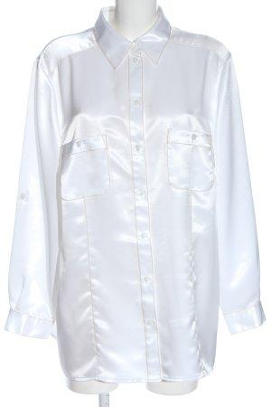 Atelier Creation Camicia a maniche lunghe bianco elegante