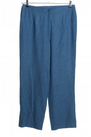 Atelier Creation Jersey Pants blue casual look