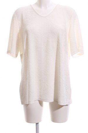 Atelier Creation T-Shirt natural white casual look