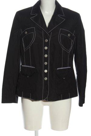 Atelier Creation Between-Seasons Jacket black-white casual look