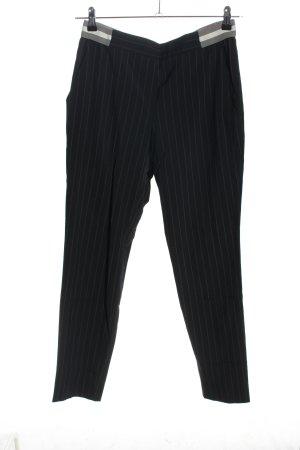 Atelier Gardeur Pantalon 7/8 noir style décontracté