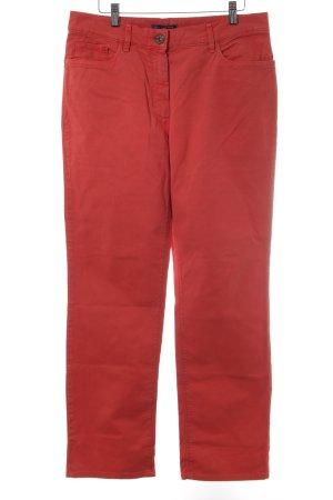 Atelier Gardeur 7/8-jeans donker oranje casual uitstraling