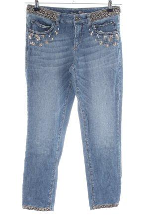 Atelier Gardeur 7/8-jeans grafisch patroon casual uitstraling