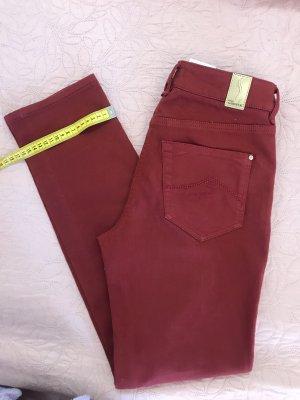 Atelier Gardeur Jeansy ze stretchu ciemnoczerwony-głęboka czerwień