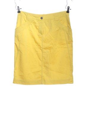 Atelier Gardeur Jupe crayon jaune primevère style décontracté
