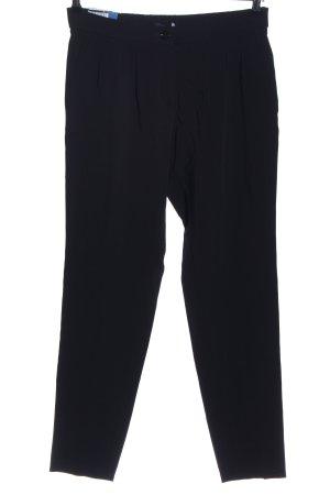 Atelier Gardeur Pantalon à pinces noir style décontracté