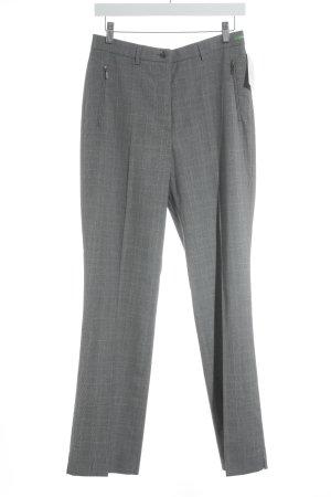 Atelier Gardeur Pantalon à pinces motif à carreaux style d'affaires