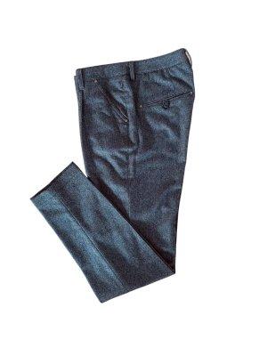 Atelier Gardeur Wollen broek grijs-bruin-donkerbruin