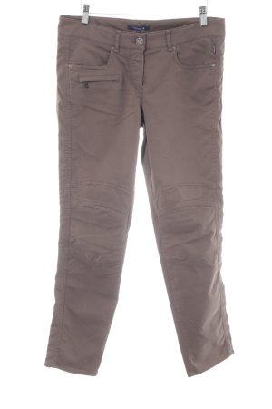 Atelier Gardeur Pantalon chinos marron clair style décontracté