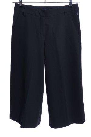 Atelier Gardeur Pantalone culotte nero stile professionale