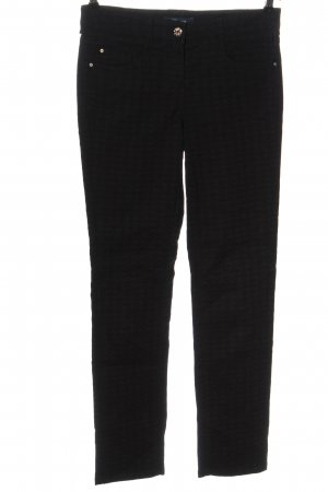 Atelier Gardeur Spodnie z pięcioma kieszeniami czarny W stylu casual