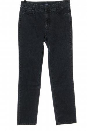 Atelier Gardeur Jeans a vita alta grigio chiaro stile casual