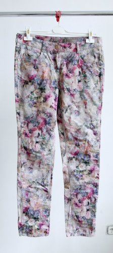 Atelier Gardeur Spodnie jasnoszary Bawełna