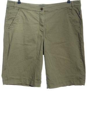 Atelier Gardeur Hot pants khaki casual uitstraling