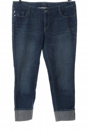 Atelier Gardeur Jeans taille basse bleu style décontracté