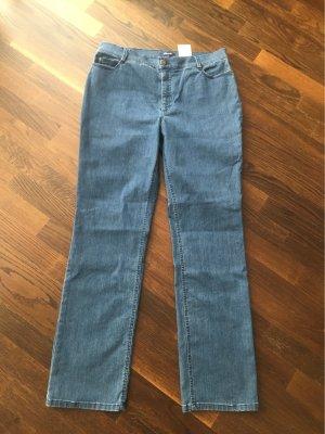 Atelier Gardeur Tube jeans azuur Gemengd weefsel