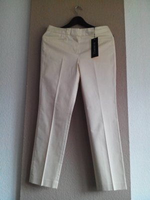 Atelier Gardeur Peg Top Trousers cream cotton