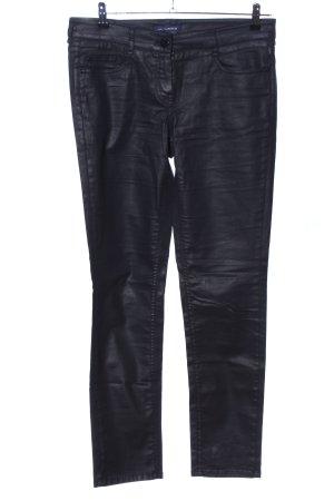 Atelier Gardeur Spodnie rurki czarny W stylu casual