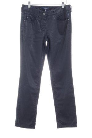 Atelier Gardeur Pantalon cigarette bleu foncé style décontracté