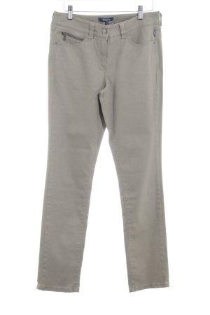 Atelier Gardeur Jeans skinny brun sable style décontracté