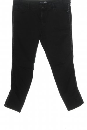 Atelier Gardeur Jeans skinny noir style décontracté