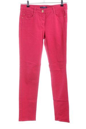 Atelier Gardeur Slim jeans rood casual uitstraling