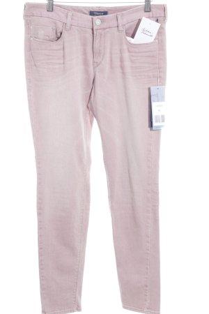 Atelier Gardeur Slim jeans stoffig roze casual uitstraling