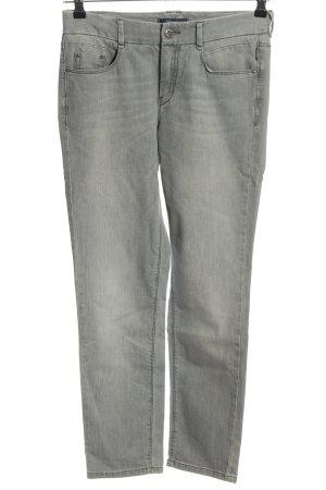 Atelier Gardeur Jeans slim gris clair style décontracté