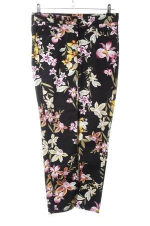 Atelier Gardeur Stoffen broek bloemenprint casual uitstraling
