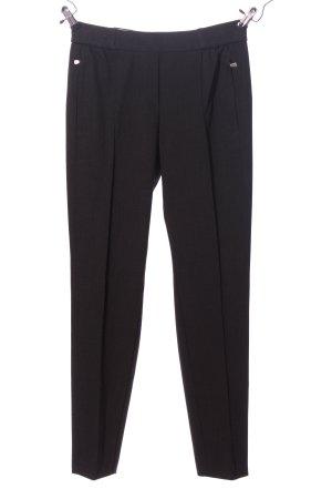 Atelier Gardeur Pantalone jersey nero stile casual