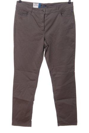 Atelier Gardeur Pantalon en jersey brun style décontracté