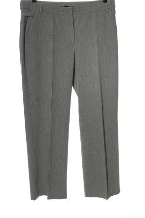 Atelier Gardeur Pantalone jersey grigio chiaro puntinato stile professionale