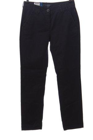 Atelier Gardeur Pantalon en jersey noir style décontracté