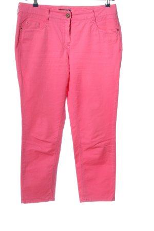 Atelier Gardeur Pantalon en jersey rose style décontracté