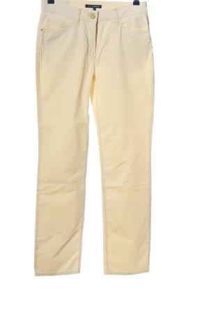 Atelier Gardeur Pantalon en jersey crème style décontracté